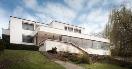 Tugendhat Villa, by Ludwig Mies van der Rohe, in Brno, Czech Repoublic.