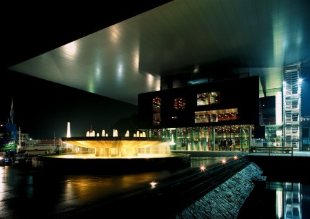 Jean Nouvel designed the Culture & Conference Center in Lucerne, Switzerland.