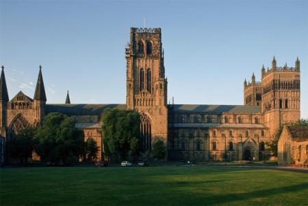 Durham Cathedral in Durham, UK.
