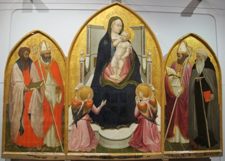 Masaccio's San Giovenale Triptych is located in the