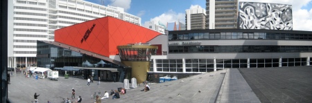 Rem Koolhaas designed the Netherlands Dance Theater in The Hague.