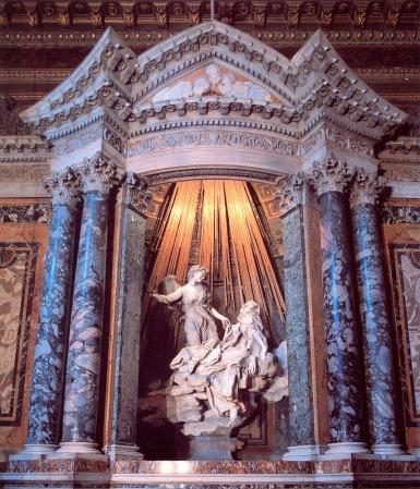 The Ecstasy of St. Teresa, by Bernini.