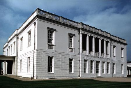 The Queen's House, in Greenwich, UK, was designed by Inigo Jones.