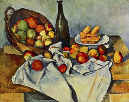 The Basket of Apples, a painting by Paul Cezanne.
