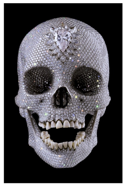 damien hirst for the love of god