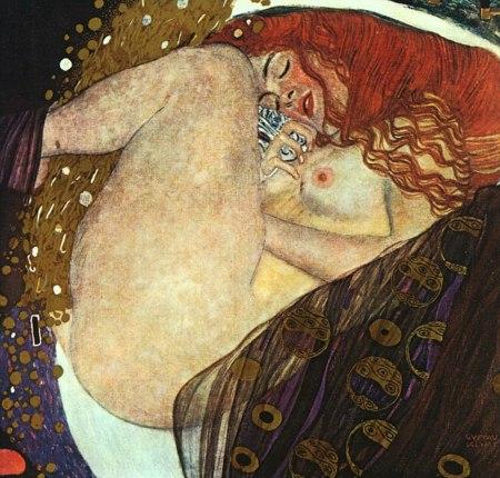 Danaë, a painting by Gustav Klimt.
