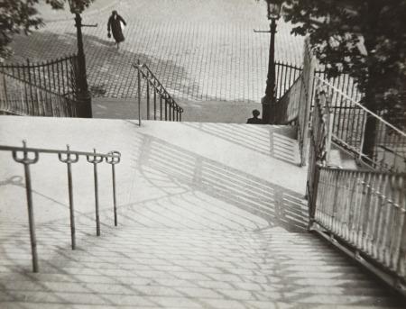 Stairs of Montmartre, Paris is a photograph by André Kertész.
