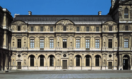 Pierre Lescot designed what is now called the Lescot Wing of the Palais du Louvre.