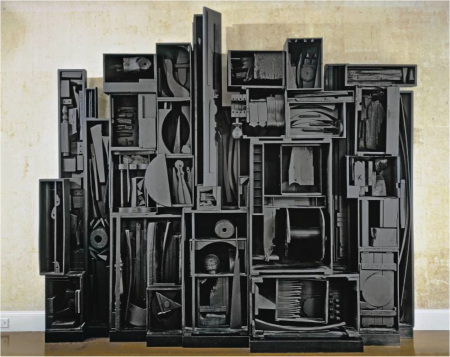 Sky Cathedral is a sculpture by Louise Nevelson.