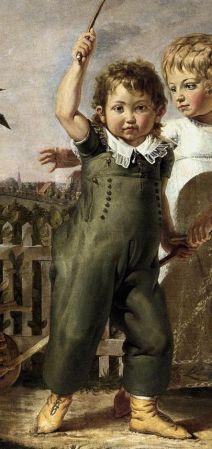 Detail of Philipp Otto Runge's The Hülsenbeck Children.