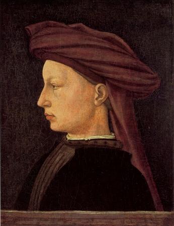 Masaccio's Portrait of a Young Man.
