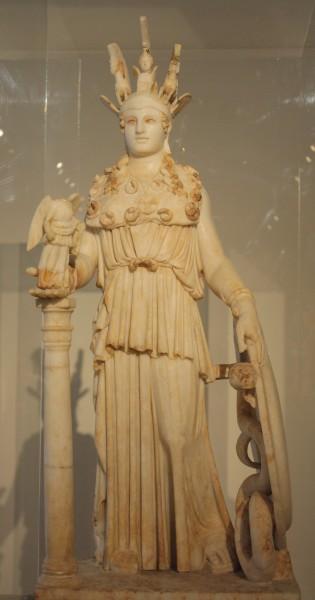 Varvakeion Athena 3rd century CE National Archaeological Museum, Athens