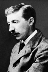 An undated photograph of E.M. Forster.