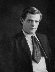 A 1903 photo of Jack London.