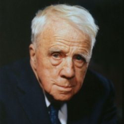 An undated photo of Robert Frost.