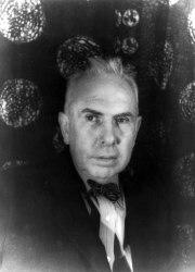 A 1933 photograph of Theodore Dreiser by Carl Van Vechten.