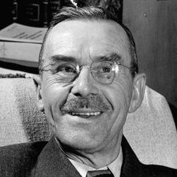 An undated photo of Thomas Mann.