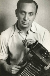 Self Portrait with Camera, by André Kertész (1936).