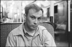 A 1959 photograph of Bruce Davidson.