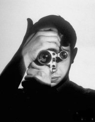 """The Photojournalist"" is a 1951 portrait of Dennis Stock by Andreas Feininger."