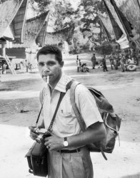 A 1958 photograph of John Dominis in Indonesia. Time & Life Pictures, via Getty. Images