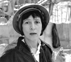 A photograph of Helen Levitt, c. 1960.