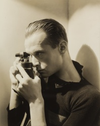 A 1935 portrait of Henri Cartier-Bresson by George Hoyningen-Heune.