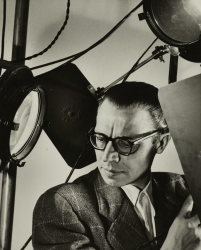 A 1949 self portrait of Otto Steinert.