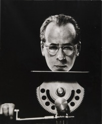 A 1950 self portrait by Philippe Halsman.