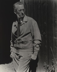 A 1932 photographic portrait of Charles Sheeler by Edward Steichen.