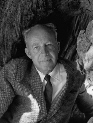 A 1963 photograph of Willard Van Dyke by Imogen Cunningham.