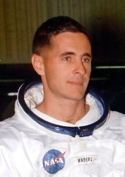 An undated photograph of U.S. astronaut William Anders. NASA Photo.