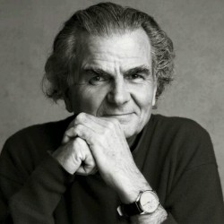 An undated photograph (self-portrait?) of Patrick Demarchelier.