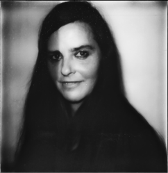 A 2011 Polaroid self-portrait by Rineke Dijkstra.