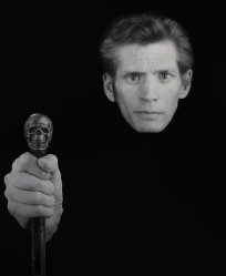 A 1988 self-portrait by Robert Mapplethorpe.