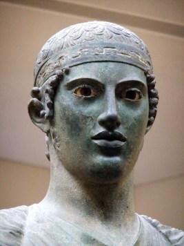 charioteer detail