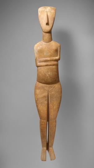 cycladic figurine 1