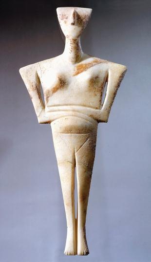 cycladic figurine 2