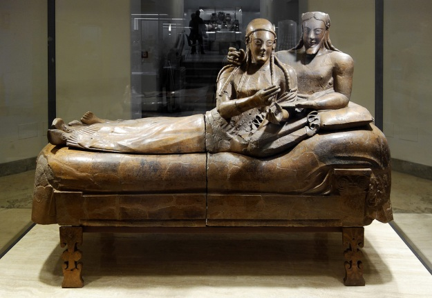 sarcophagus of the spouses italy