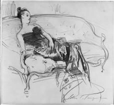Madame X sketch