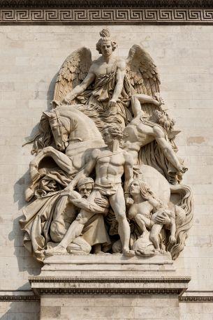 Resistance Arc_de_Triomphe,_la_Résistance_de_1814,_Antoine_Etex