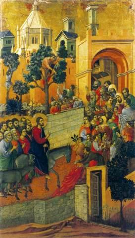 duccio entry into jerusalem
