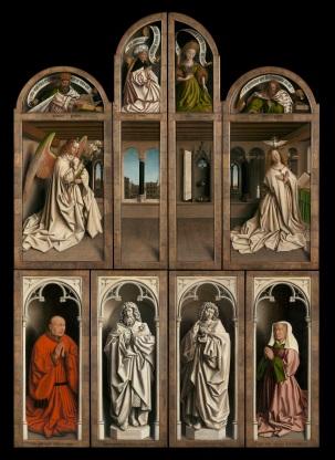 ghent altarpiece closed