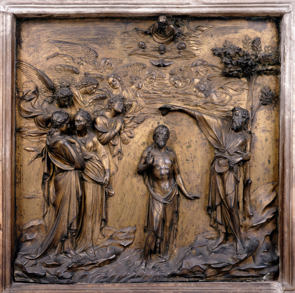 ghiberti baptism of christ