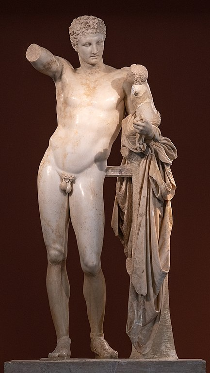 Hermes_and_the_infant_Dionysus_by_Praxiteles