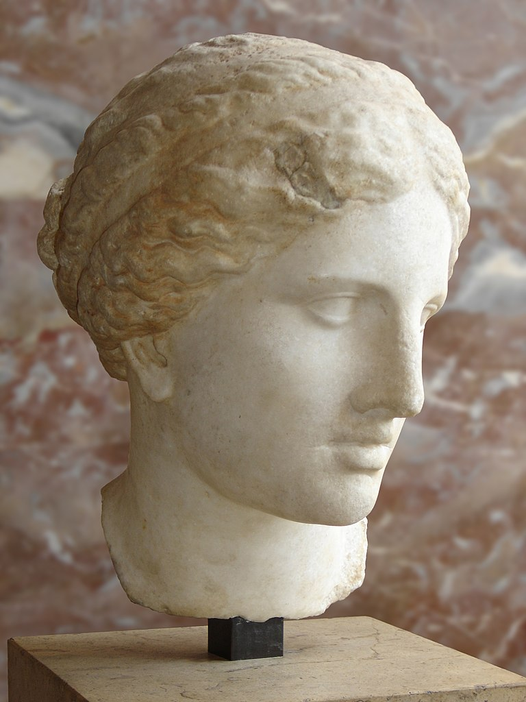 Female head of Cnidian Aphrodite type