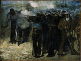 Manet,_The_Execution_of_Emperor_Maximilian,_1867 MFA