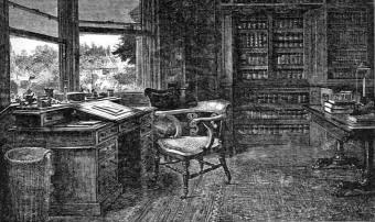 Samuel_Luke_Fildes_-_The_Empty_Chair_(The_Graphic,_1870)