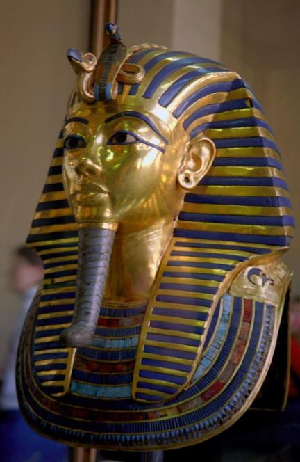 tutankhamen funerary mask