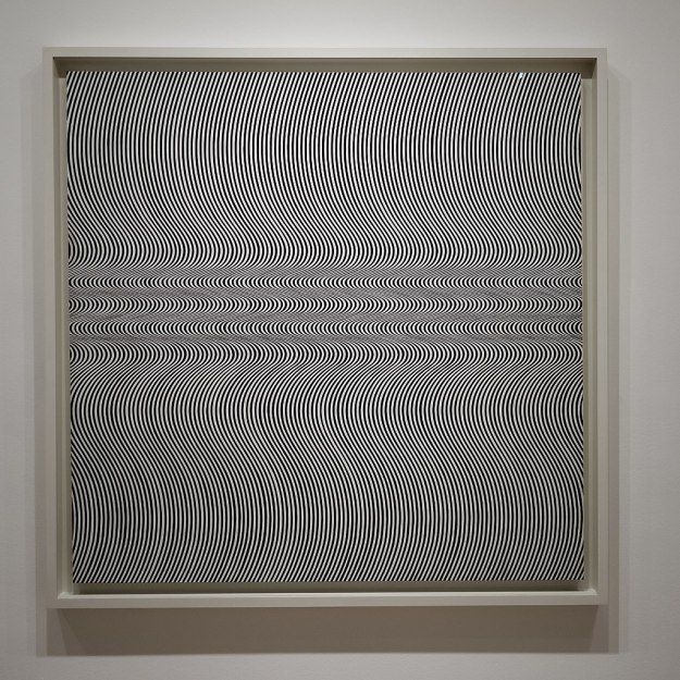 Bridget_Riley._Current_(1964)